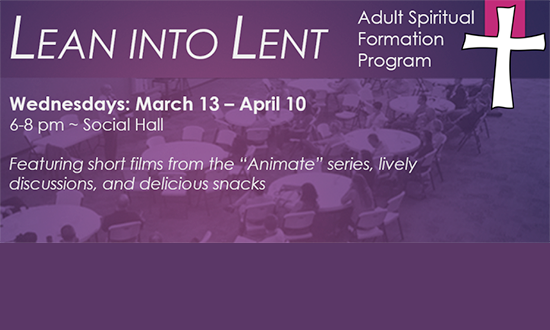Lean Into Lent