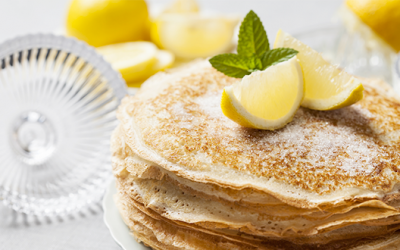 Pancakes on Shrove Tuesday