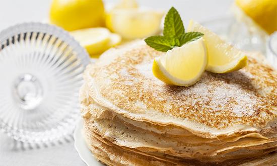 Pancakes on Shrove Tuesday