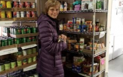 """Back Door Food Pantry Shopping """"Minute for Mission"""" March 2019"""