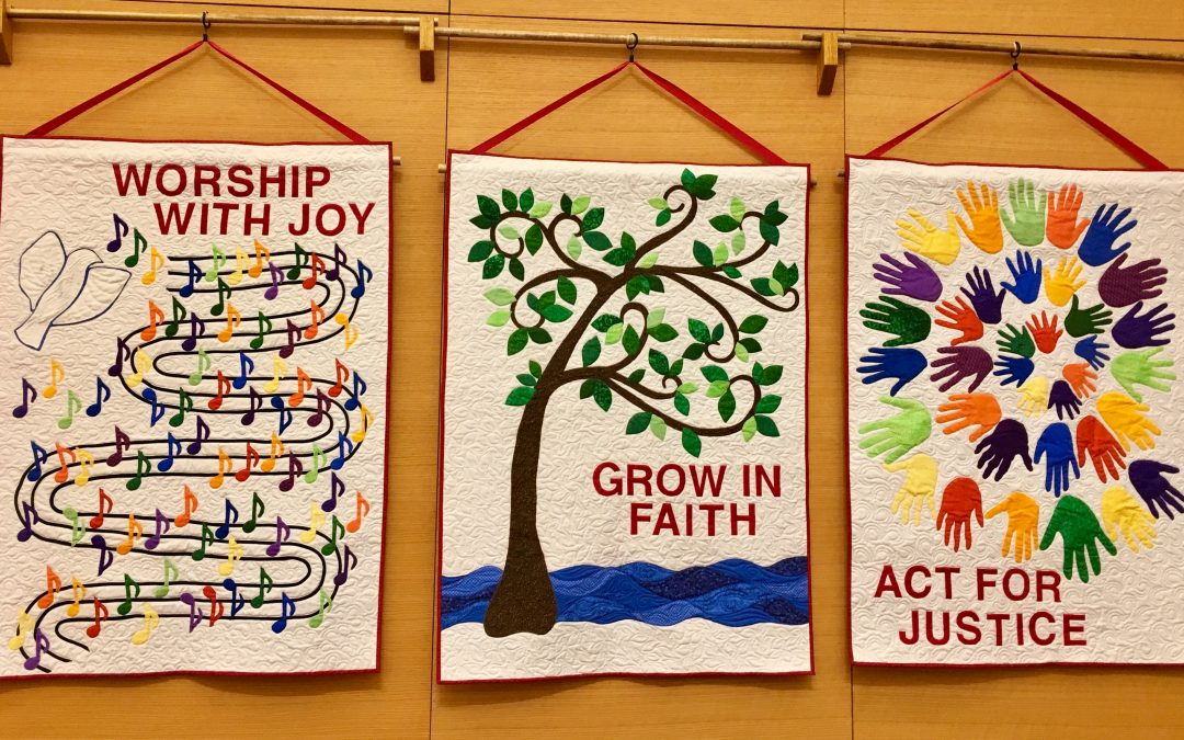 Blessing of new Mission Banners