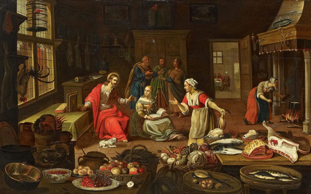 Sermon: Am I a Mary or a Martha?