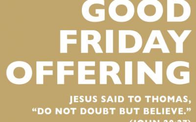 Good Friday Offering
