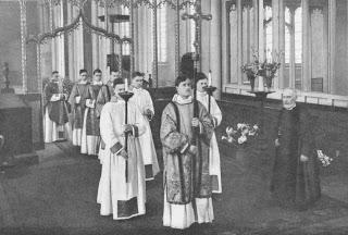 Congratulating St. Clare's Vergers