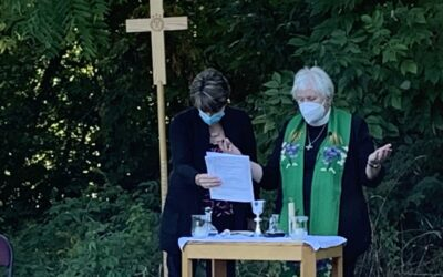 Outdoor Eucharist Services in October