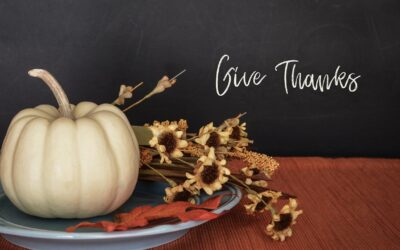 A Prayer of Thanksgiving