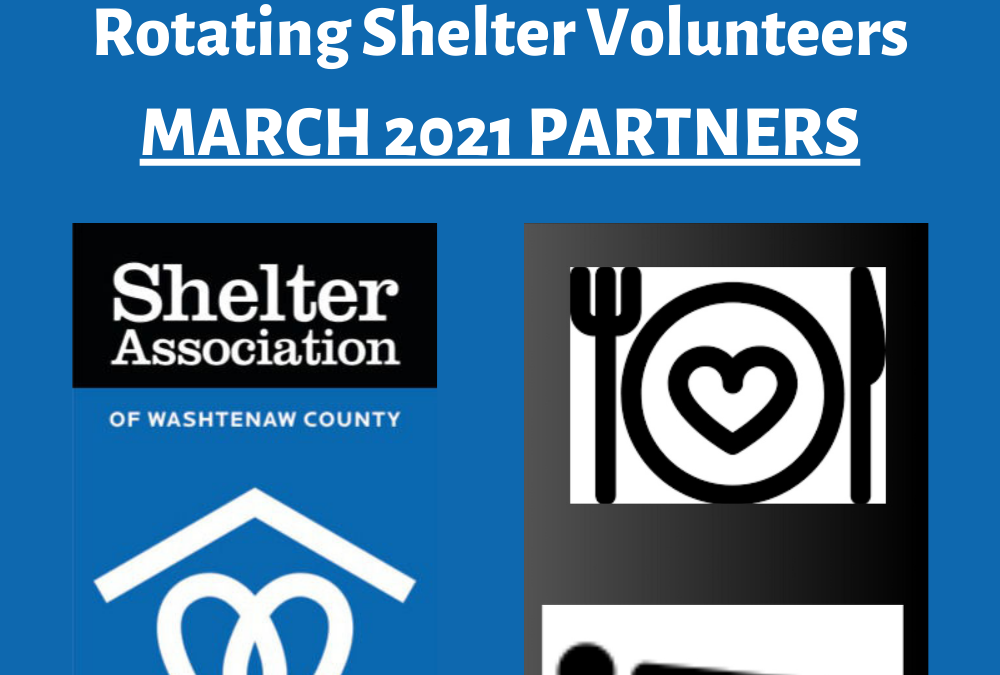 Rotating Shelter Volunteers Needed in March
