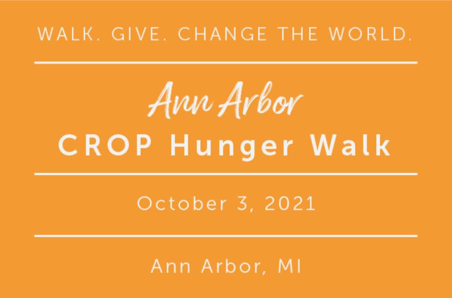 CROP Walk Ann Arbor